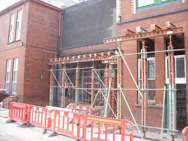Propping Works Scaffolding Services Mitchells