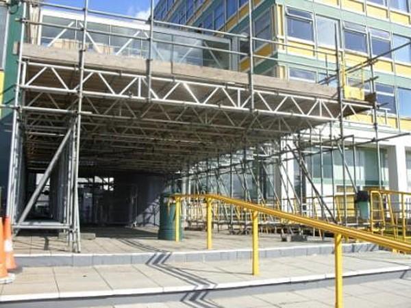 Rochdale College Mitchells Scaffolding Lancashire