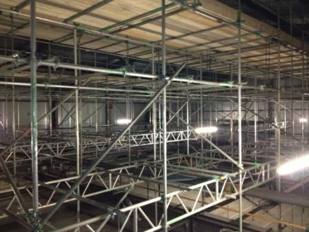 Scaffolding, Sprinklers and Scunthorpe!